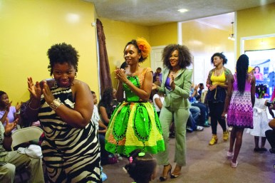 Models strutted the runway and patrons enjoyed the styles at the 3rd Annual Fashion and Hair Show sponsored by Sankofa Cultural Arts Center. (David Pierini/Staff Photographer)