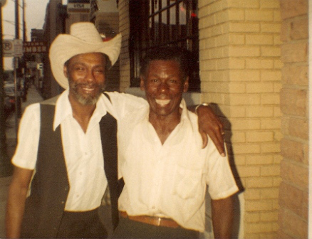 """""""Mad Dog"""" Lester Davenport and Little Willie Anderson were West Side musical buddies."""