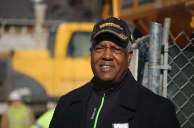 Reverend Reuben Robinson, president and CEO of Empowerment Consulting Group, Inc., was responsible for securing employment on the construction site for local minority tradesmen. Read his story in this week's print edition of the Austin Weekly News. Michael Romain