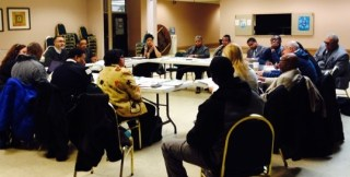 West Garfield Park Community Stakeholders meet monthly to discuss how to improve quality of life