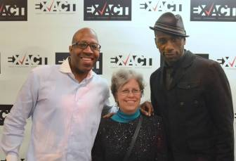 (Below) Bonnie McKeown pictured with Leon and Pitts. (Submitted photos)