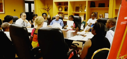 West Garfield Park Community Stakeholders board meeting