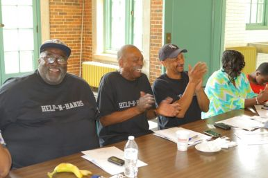 Attendees at the Leader's Network's first annual Black Fathers Standing Up and Making a Difference Award ceremony, which was held June 9. Submitted photo.