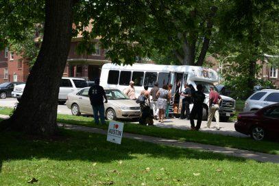 Austin community bus tour