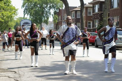 Congressman Danny K. Davis's 36th Annual Back-to-School Parade and Picnic, held Sat. August 15 near Columbus Park, brought together an array of young talent, such as Center for Attention Dance Group, the Dancing Stars Majorette team, and Carl and Deshawn McClintong, members of the Chicago Boyz Acrobatic Team. | Amber Williams/Contributor.