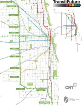 Information on the proposed Lime Line, an el line that would extended rail service to more places on the West Side. | Active Transportation Alliance