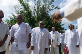 A Fathers Day ceremony on June 21 at Corinthian Temple Church of God in Christ. | WILLIAM CAMARGO/Staff Photographer