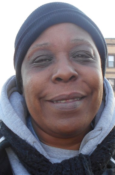 "Darlene Pope ""It would take more of my people to come together. It would take more of us to pull together and do things together to take these drugs off the street, get rid of these negative police, and do more for our seniors."""