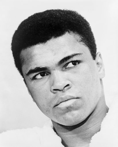 A photo portrait of Muhammad Ali from 1967. The portrait was taken by Ira Rosenberg for the World Journal Tribune. Ali died on June 3 at the age of 74. | Wikipedia Commons