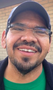 "Luis Romo ""My father taught me the importance of getting an education and being able to provide for myself. He helped put all five of my siblings through college and graduate or law school. His work ethics were something to emulate. He worked long and hard for his family, and now he supports in other ways like giving us encouragement that we can do what ever we set our minds out to do."""