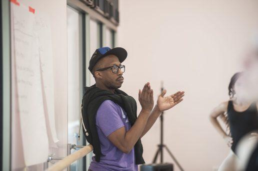 Maywood Fine Arts dancers rehearsing the third act of 'Sleeping Beauty.' | William Camargo/Staff