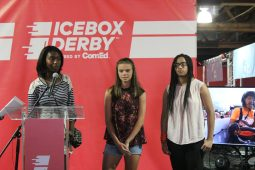 Students participating in the annual Icebox Derby program by ComEd will work in groups to build a go-kart using parts from a refrigerator. Upon completion, students will hold a public display of the car at 3 p.m. on Aug. 10 at the Daley Center, 50 W. Washington St.