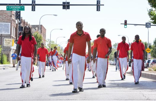 The 29th annual Say No To Drugs and Violence Parade and Back to School Rally kicked off on Saturday, July 29, 2017 in Chicago's Austin neighborhood. | Alexa Rogals/Staff Photographer
