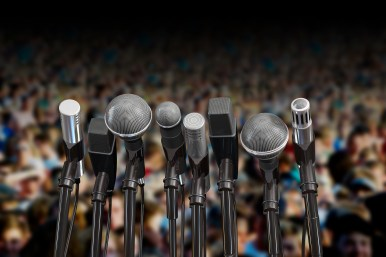 Enjoy a public speaking contest