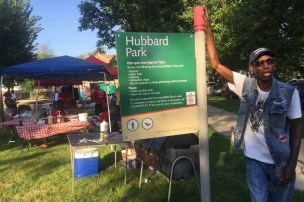 Larry Taylor brings blues to Hubbard Park in BUILD Light the Night