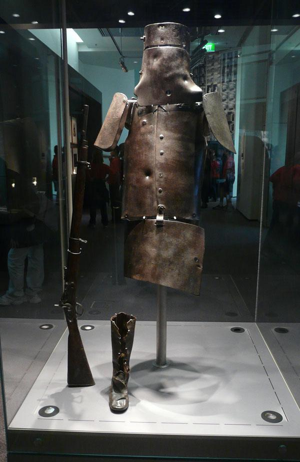 Armure Ned Kelly
