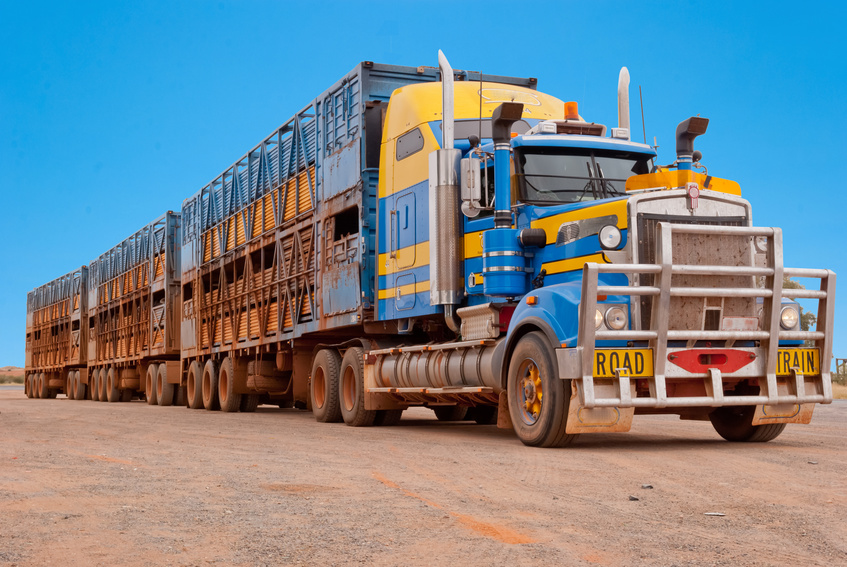 expression road train australie
