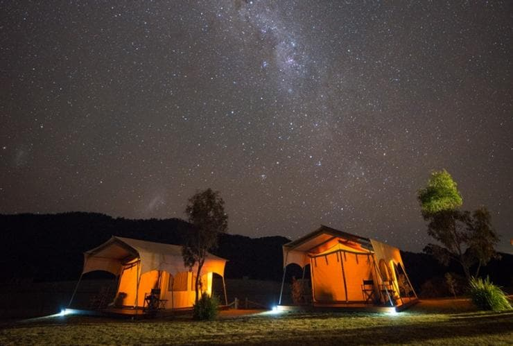 Spicers Canopy Eco Lodge, Maryvale, Scenic Rim, QLD © Ben Messina, Spicers Retreats