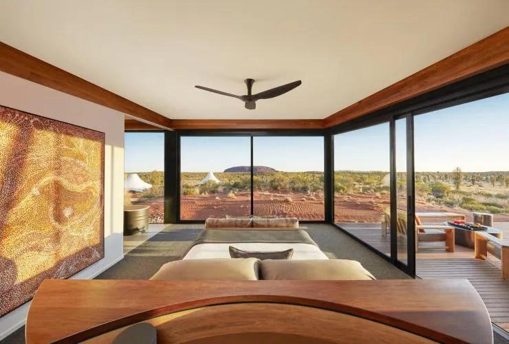 Longitude 131, Uluru-Kata Tjuta National Park, NT © Luxury Lodges of Australia