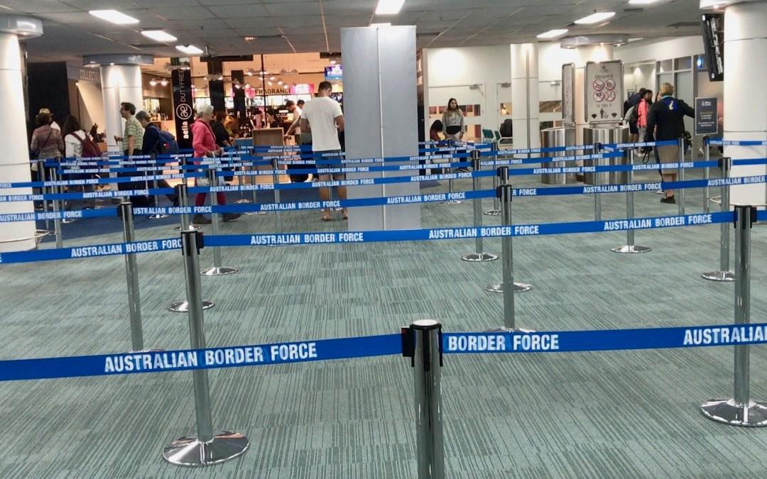 Jak vyplnit příletový formulář do Austrálie