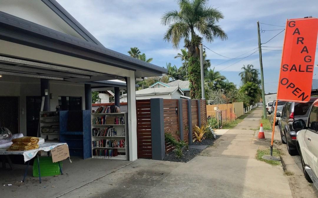 Brigáda v zahraničí garage sale – jak si v Austrálii přivydělat