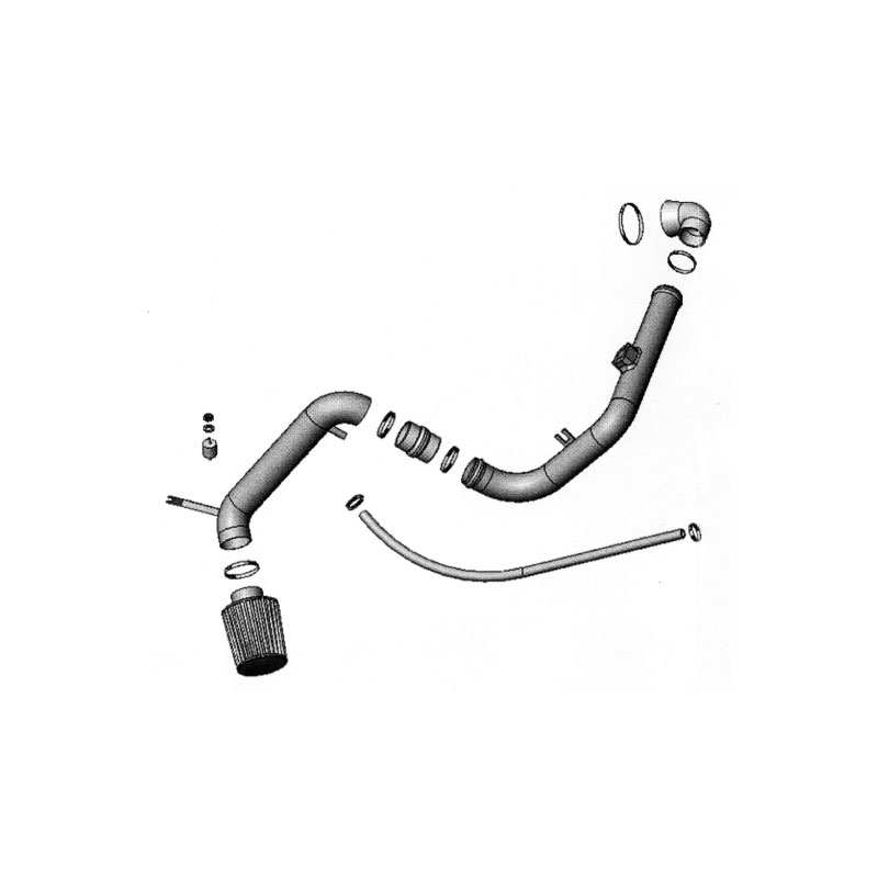 Simota Cold Air Intake System, Ford Focus 2.0 ZETEC DOHC