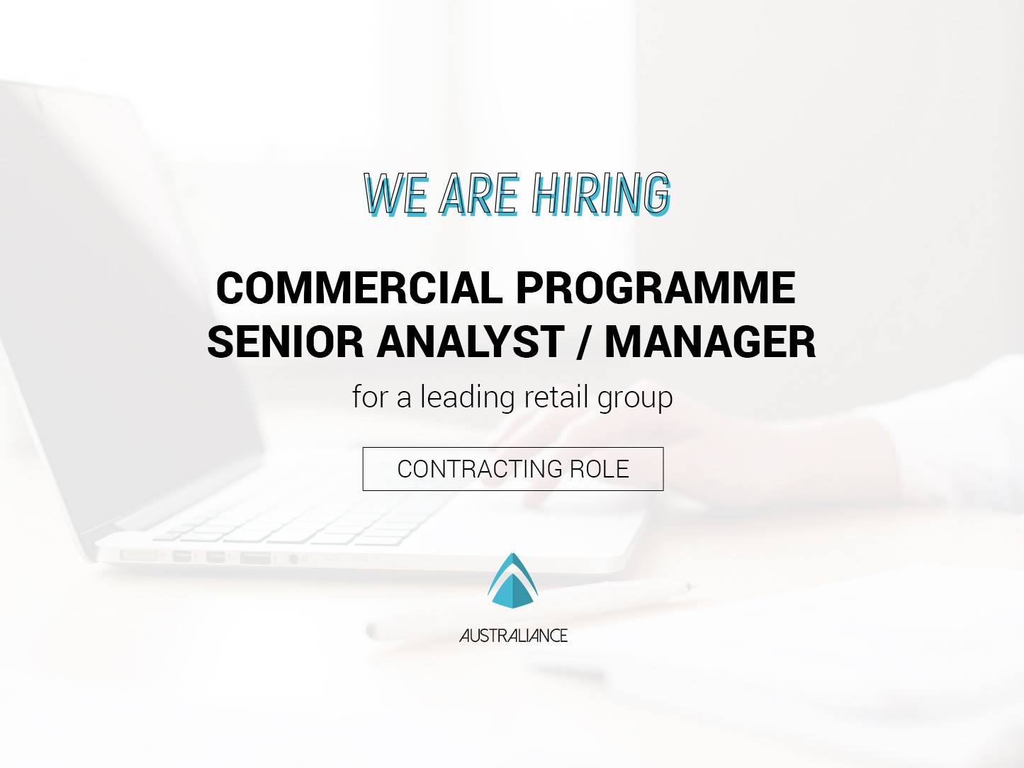 Hired — Job offer: Commercial Programme Senior Analyst