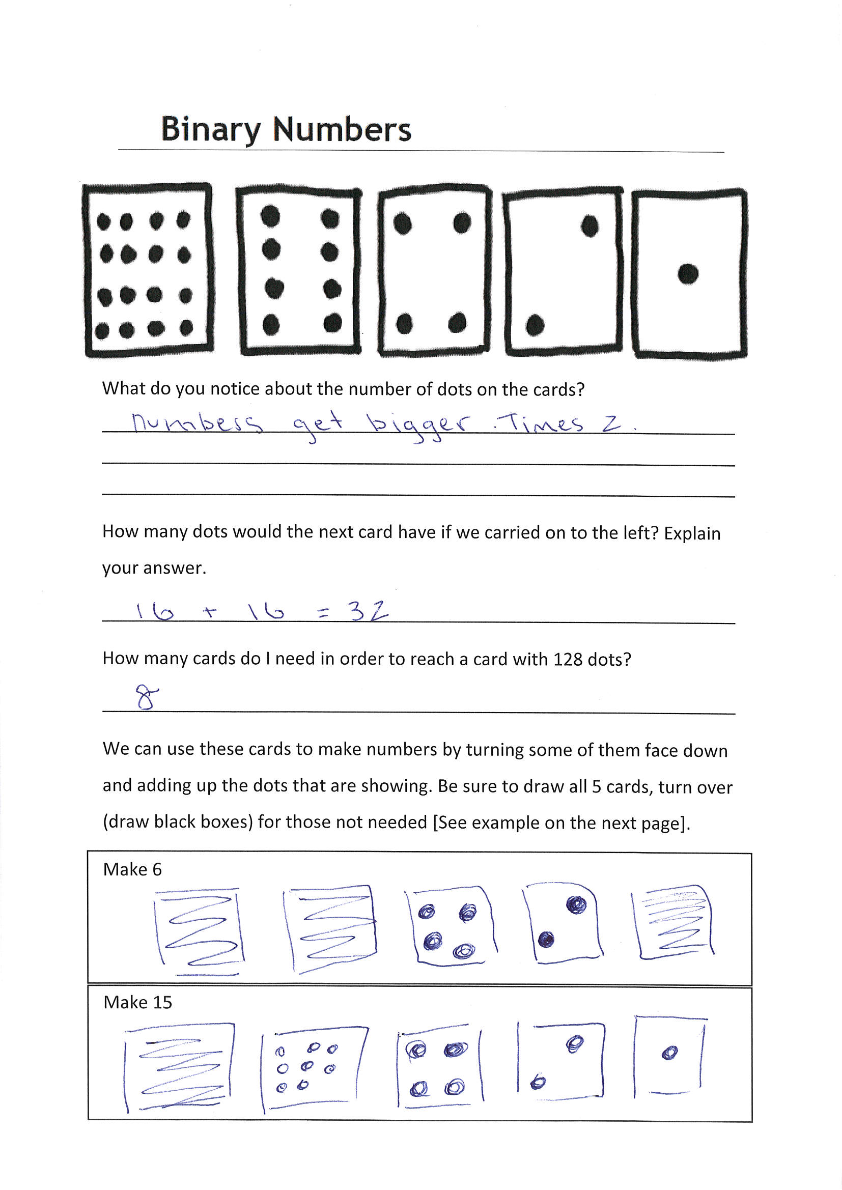 Binary Subtraction Worksheet With Answers