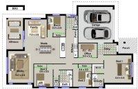4 Bedroom Plus Office House