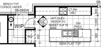 Kitchen plans with butlers pantry