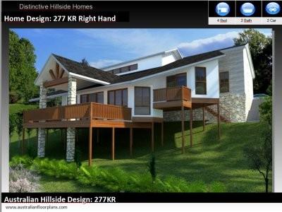 Australian Hillside House Plans Pole Homes House Plans Hillside