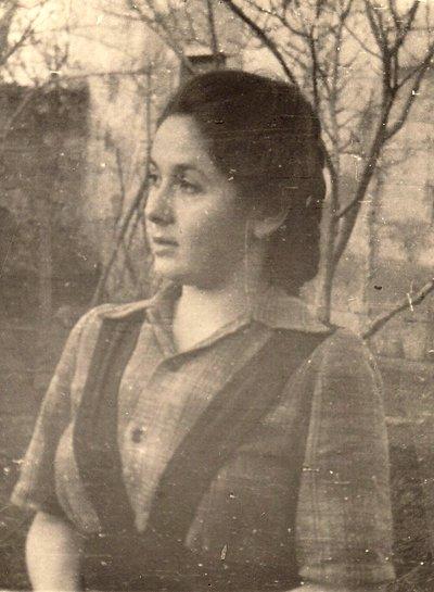 Спасённая, Катерина Данова. 50-е годы