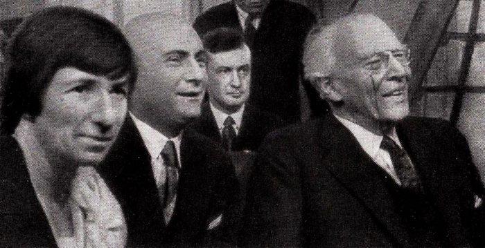 К. С. Станиславский, А. М. Азарин, С. Г. Бирман