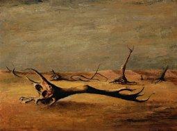 Russell Drysdale. Western Landscape, 1945