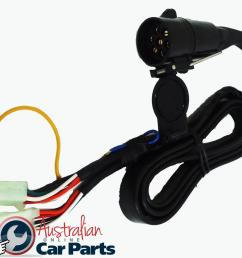trailer wiring harness suitable for holden commodore vt vx vy vz genuine round plug 92140147 [ 1496 x 1131 Pixel ]