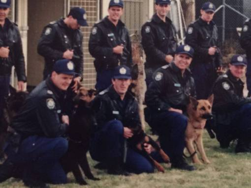 Jeff Brown with PD Shadow ( front left )