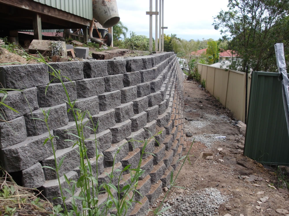 Australian Retaining Walls Diamond Concrete Block Retaining Walls - Australian Retaining Walls
