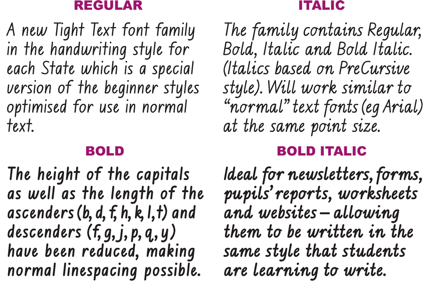 Australian School Fonts•Instant Download Aussie