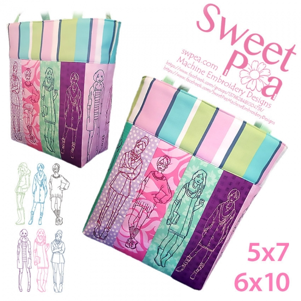 sweet pea embroidery # 82