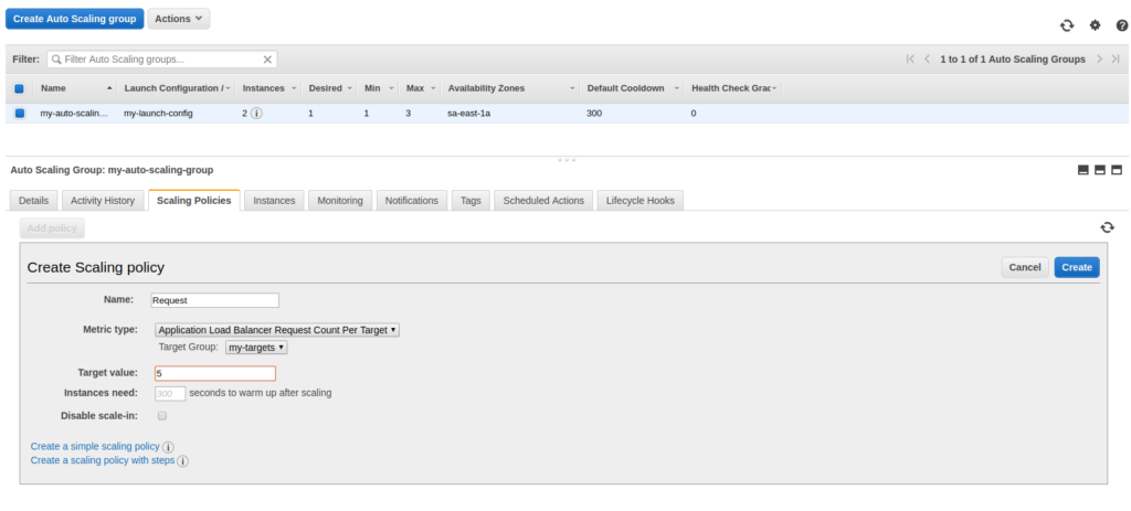 How to Create a Web Application that Auto Scales with AWS