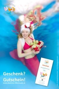 Geschenkgutscheine kaufen! DAS Geschenk für begeisterte und passionierte Mermaids & Mermen...und die die es werden wollen! :-)