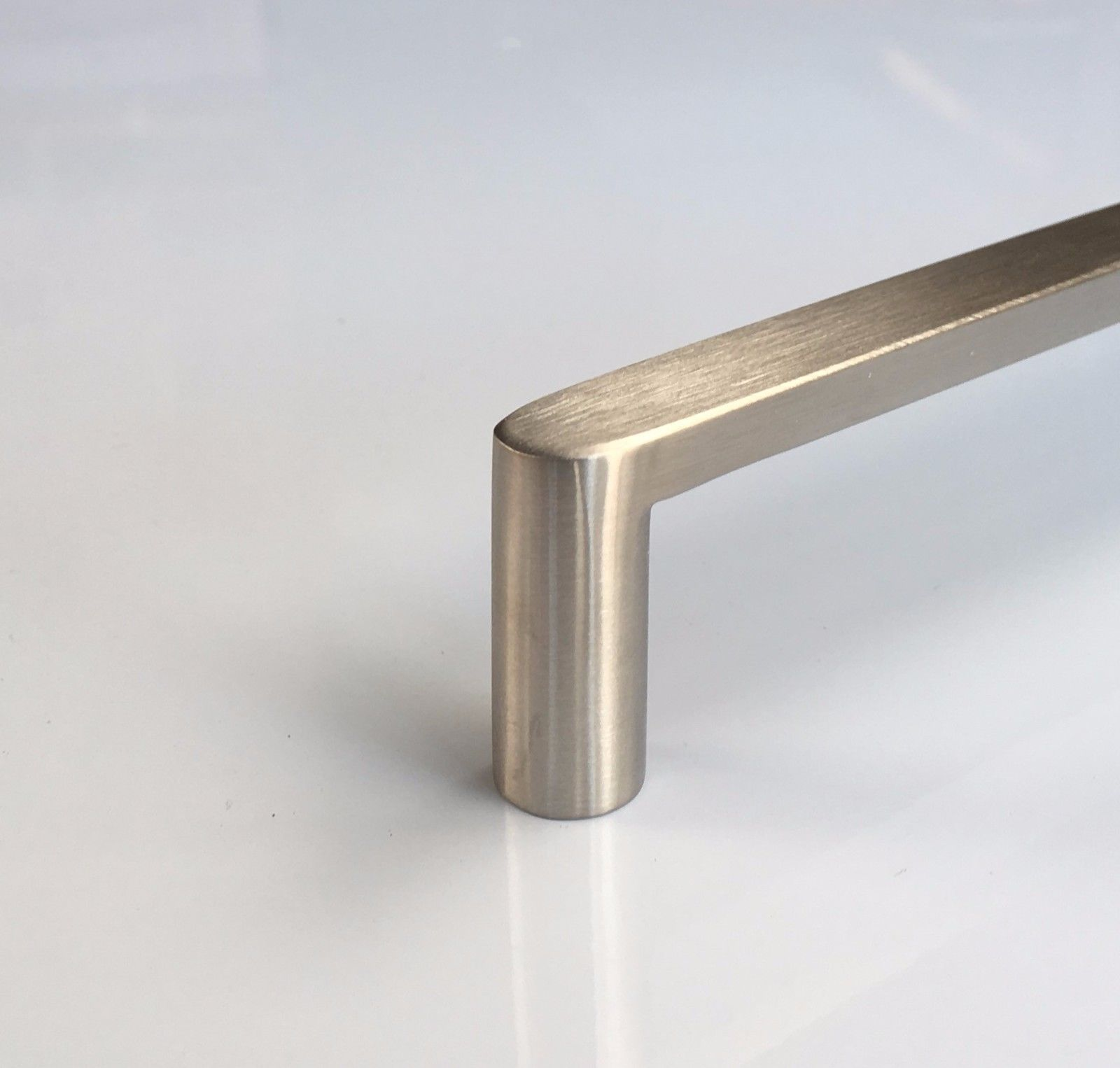 Solid Stainless Steel Brushed Kitchen Cabinet Door Drawer