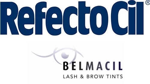 Logos of Refectocil and Belmacil