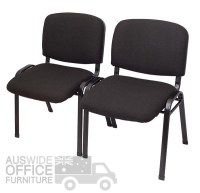 Rapidline Nova Visitor Chair Office Furniture - AUSWIDE ...