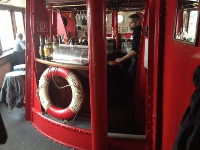 Das Feuerschiff- Offiziersmesse -