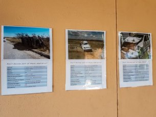 Ausstellung von Unfallfahrzeugen