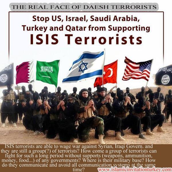 l'extrémiste Etat islamique d'Irak et du Levant (ISIL) militants ont été formés par la Central Intelligence Agency (CIA) en Jordanie il ya plus de deux ans.