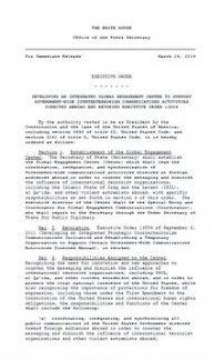 Obama créé un nouveau dispositif de manipulation de l'information