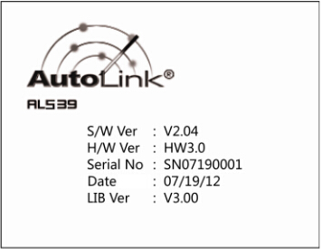 Autel AutoLink AL539B OBDII Code Reader Battery Test Tool