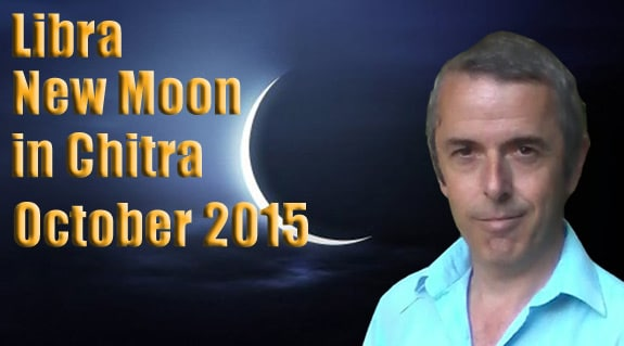 Libra New Moon in Chitra 13th October, 2015